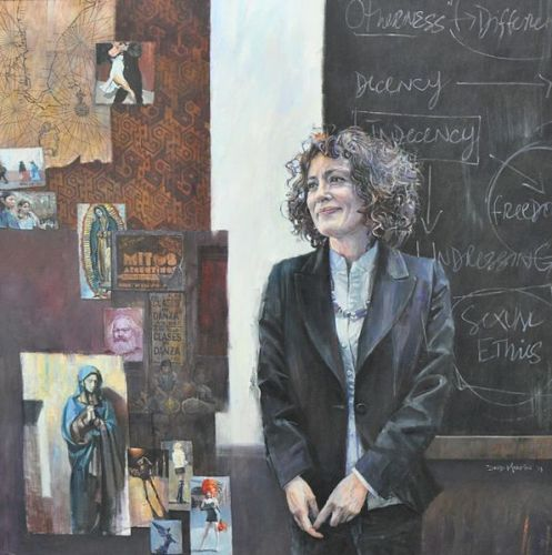 Portrait of Marcella Althaus-Reid by David Martin
