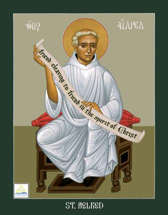 Saint. Aelred of Rievaulx by Brother Robert Lentz gay saint