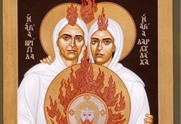 Brigid and Darlughdach: Celtic saint loved her female soulmate