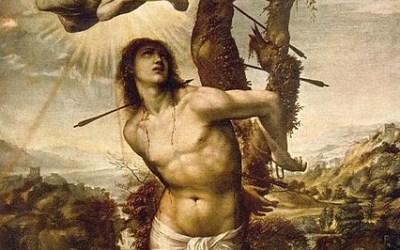 saint sebastian gay icon