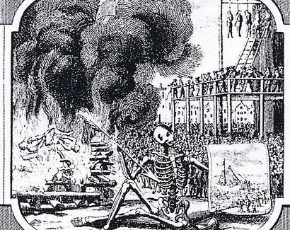 Dutch massacre of sodomites in Amsterdam in 1730-31