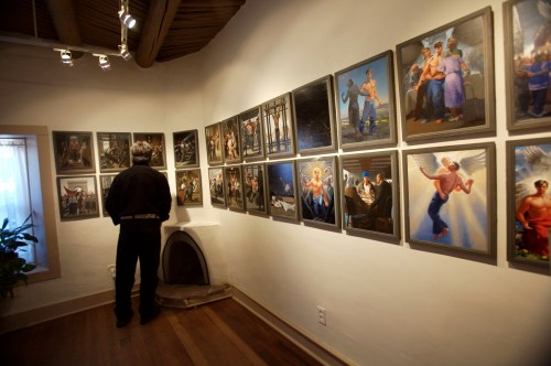 The Passion of Christ: A Gay Vision by Doug Blanchard on display