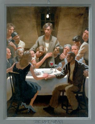 Last Supper (The Passion of Christ: A Gay Vision by Doug Blanchard