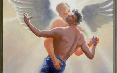 Ascension Day: Jesus Returns to God (Gay Passion of Christ series)