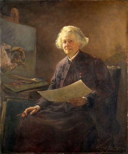 Rosa Bonheur portrait by Anna Klumpke,