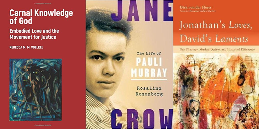 "LGBTQ Christian books ""Carnal Knowledge,"" ""Jonathan's Loves, David's Laments,"" ""Jane Crow"""