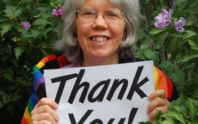 Thanks! LGBT Pride Month offering goal reached