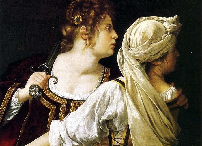 Artemisia Gentileschi paints strong Biblical women