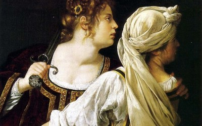 Artemisia Gentileschi paints strong Biblical women
