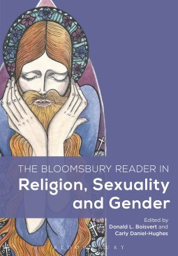 Wilgefortis on cover of Bloomsbury Reader in Religion, Sexuality and Gender