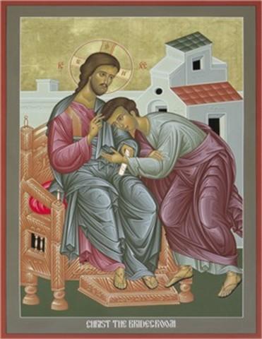 Christ the Bridegroom by Robert Lentz