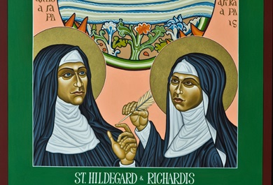 Hildegard of Bingen and Richardis: Medieval mystic and the woman she loved