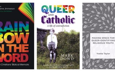"New in Oct: LGBTQ Christian books ""Rainbow in the Word,"" ""Queer and Catholic"" and more"