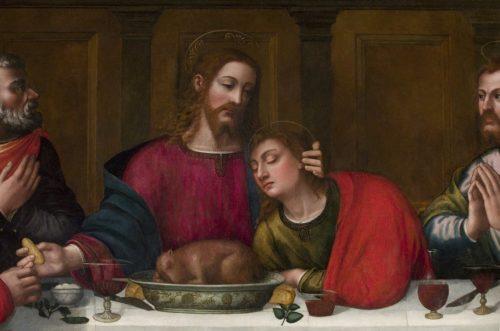 John and Jesus by Plautilla Nelli