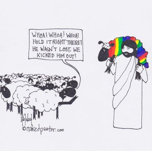 LGBTQ Christian cartoons reveal God's love for all