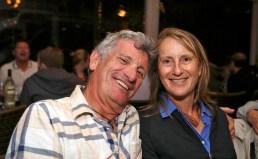 Jonathan Bogais and wife. Photo: Gilbert Bel-Bachir.