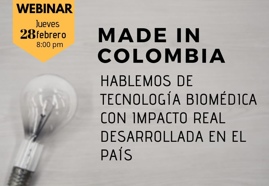 [VIDEO] : MADE IN COLOMBIA - TECNOLOGÍAS EN SALUD