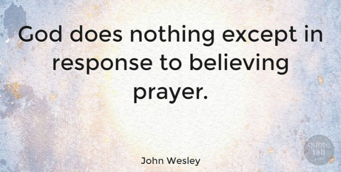 Image result for THE BELIEVING PRAYER