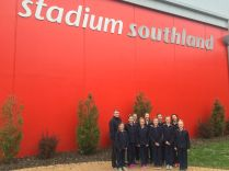 Outside the Nationals venue, the ILT Southland Stadium