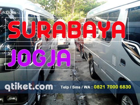 Travel Surabaya Jogja Antar jemput Murah