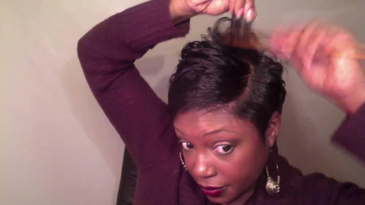 Short Hair Tutorial Simple WOCBlack Women