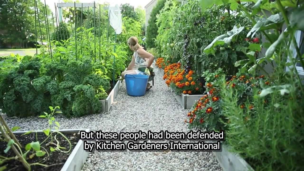 Drummondvilles Front Yard Vegetable Garden