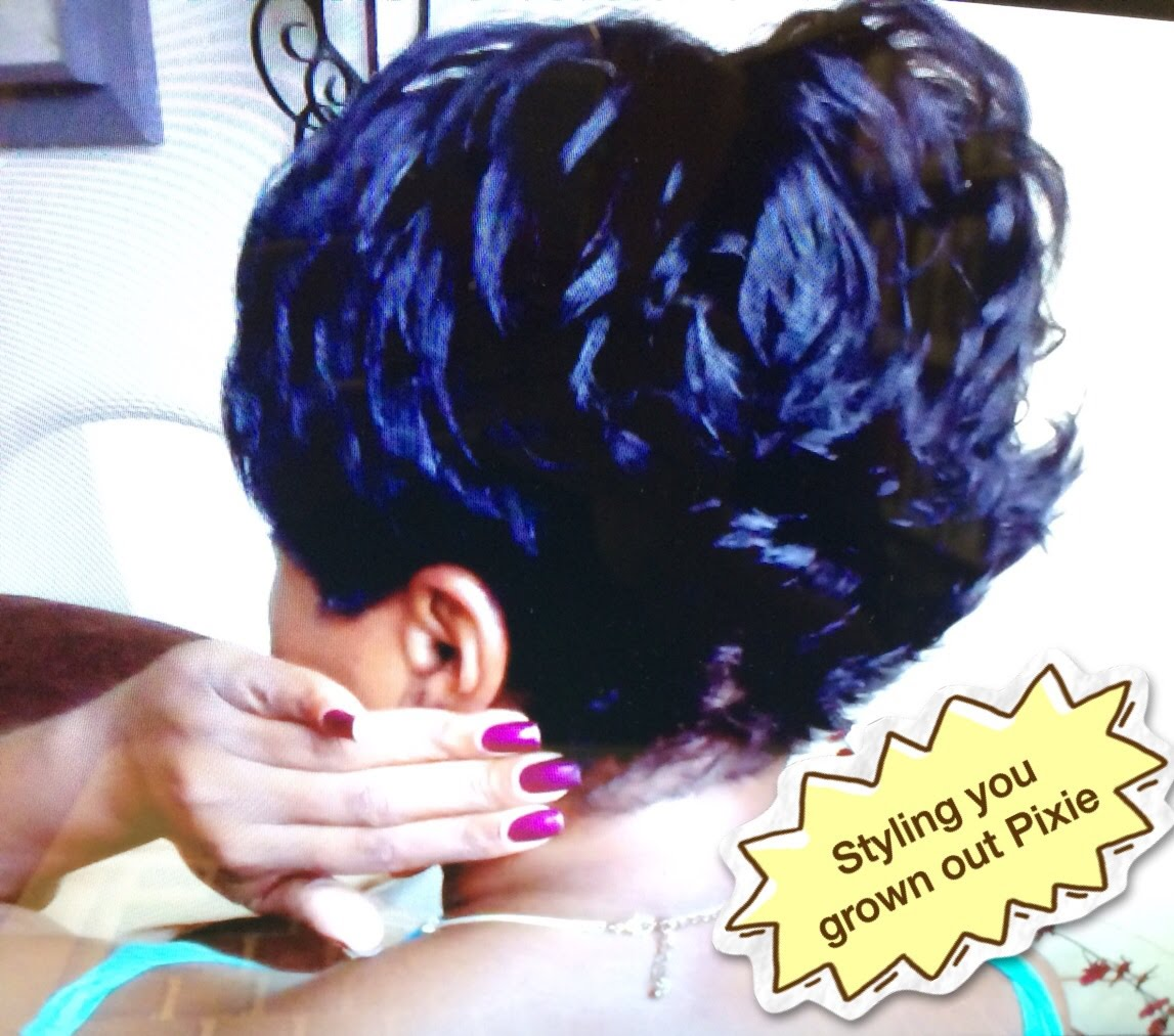 Short Hair Tutorial Styling Your Grown Out Pixie Back
