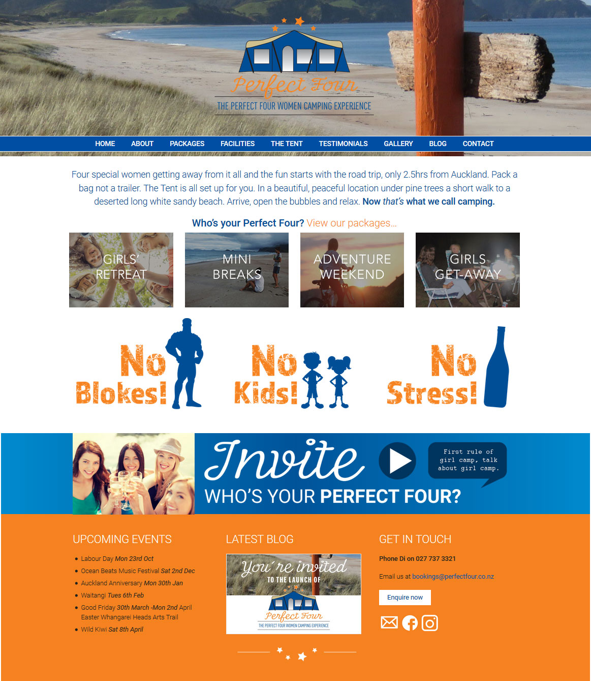 Perfect Four Website