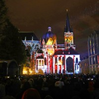 Architectural Mapping of Aachen Cathedral Marks 40 Years as UNESCO World Heritage Site with Support from disguise; Live Design