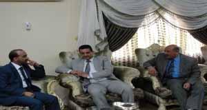 السيد كاظم عبادي عبدان نائب رئيس مجلس المحافظة يزور كلية القانون ضمن التعاون المشترك بين الجامعة ومجلس المحافظة