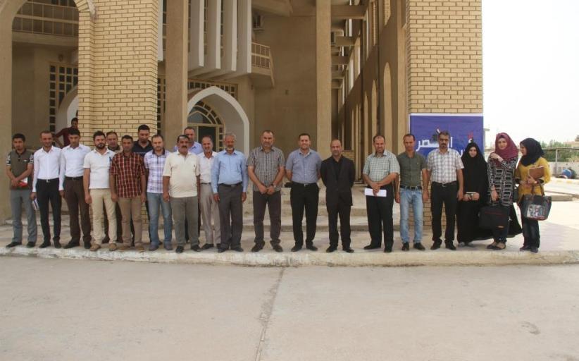 كلية القانون جامعة القادسية تحتفل بأسبوع النصر ( تحرير الموصل )