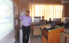 College of Veterinary Medicine / University of Qadisiya held a seminar on infectious germs (API ZOE