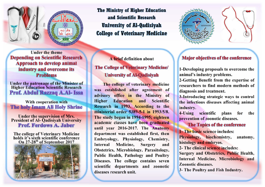 6th Scientific Conference of the Faculty of Veterinary Medicine