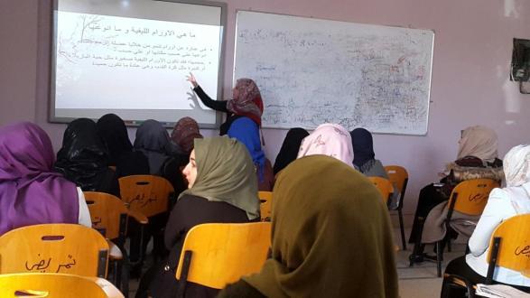 كلية التمريض في جامعة القادسية تنظم ورشة عمل بعنوان الاورام الليفية للرحم
