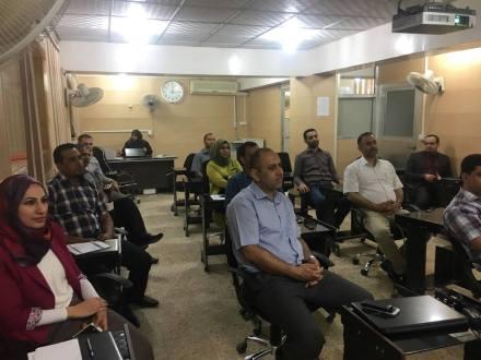 كلية الهندسة في جامعة القادسية تعقد ورشة علمية حول الخرسانة ذاتية الرص