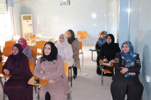 كلية التقانات الاحيائية جامعة القادسية تقيم دورة علمية عن تقنية الإليزا