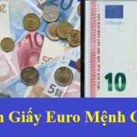 THÔNG BÁO ĐỒNG TIỀN EURO MỆNH GIÁ 10 EURO ĐƯỢC THAY ĐỔI