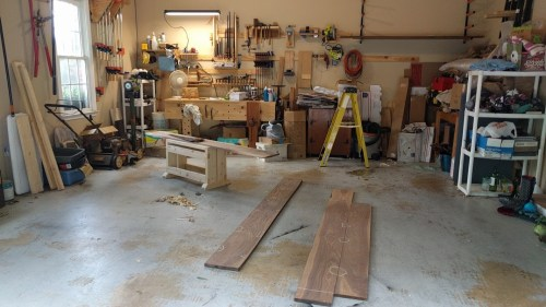 The Shop and the Sawbench