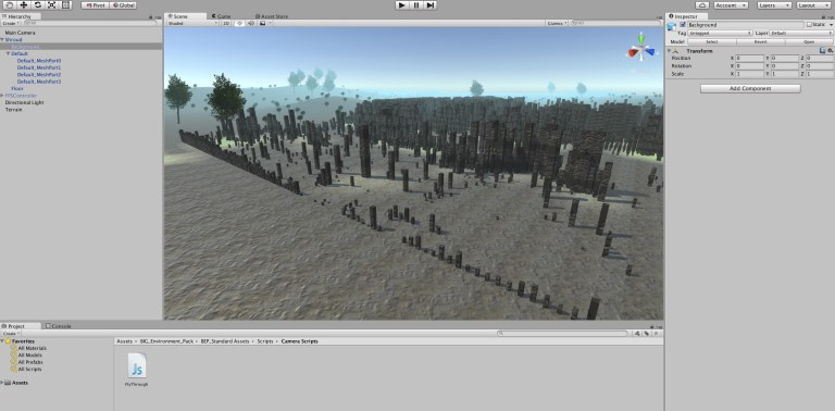 Shrouded in Unity 3D