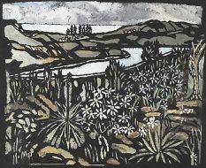 Manly pines - Margaret Preston