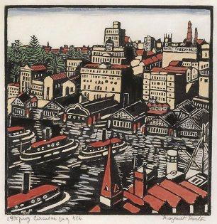 Circular quay - Margaret Preston