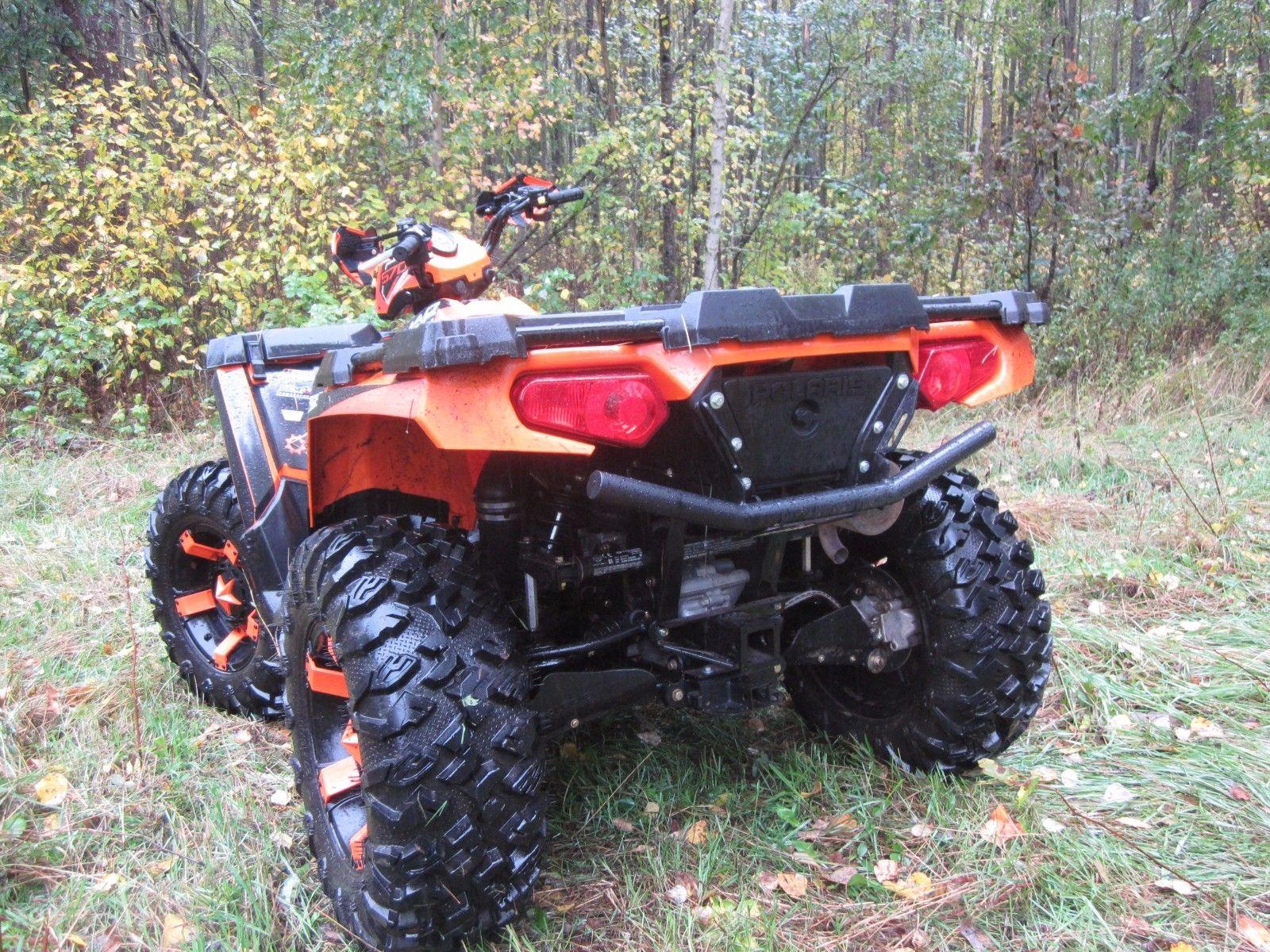 sportsman 570 rear grab bar tube bumper