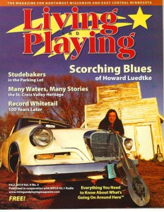 "Howard is featured in the Fall 2014 Issue of 'Living and Playing"" Magazine."