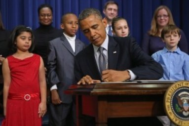 President Obama signs Gun Control Executive Orders