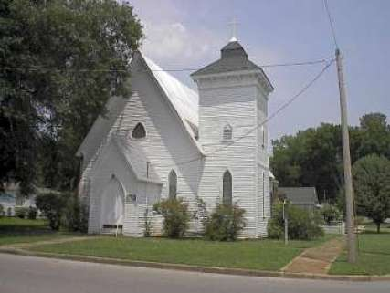 St. John's Episcopal Church, in Tuscumbia