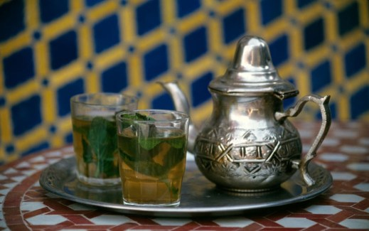 MOROCCO Maghrebi Mint tea