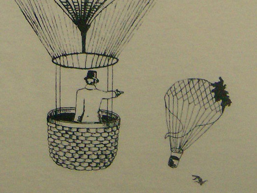 The First Duel Fought in Hot Air Balloons – Paris, 1808 |