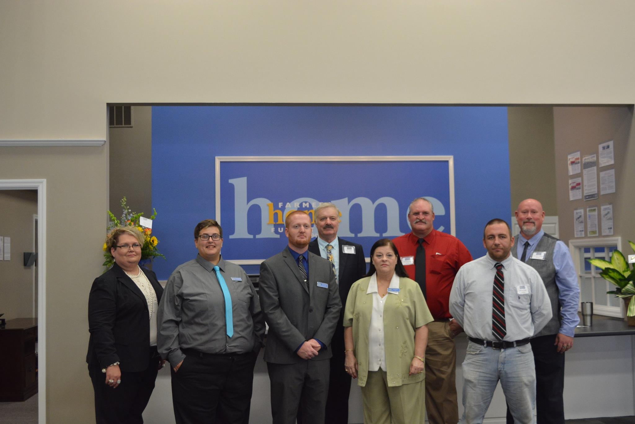 Farmers Home Furniture Held Grand Opening Friday August 10