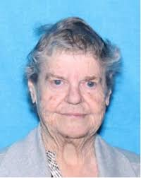 Betty Manning Cagle 5'5 , 158 lbs, with gray hair 80-years-old