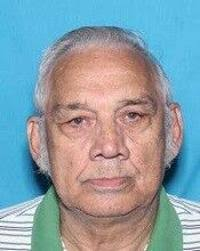 Clyde Dean Cagle 6'0 200 lbs with gray hair 79-years-old
